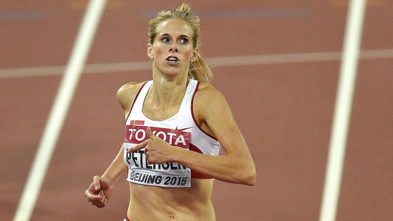 Sara Slott Petersen forbereder sig nu frem mod EM.