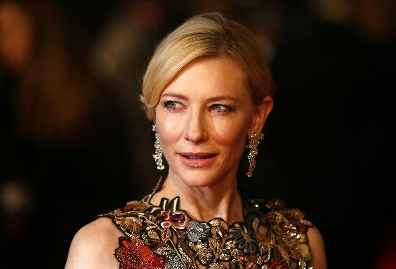 Smukke Cate Blanchett er en af de Oscar-nominerede, som er sikret en goodbie-bag til en værdi af 1,3 mio. kr.