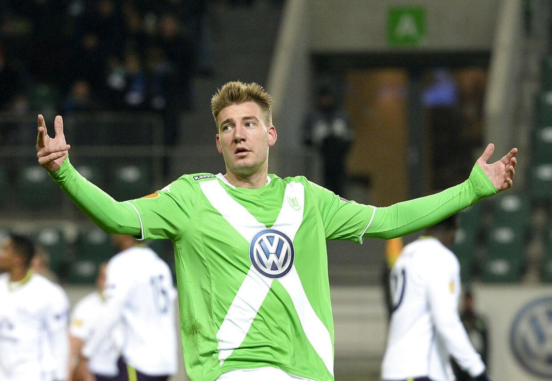 Nicklas Bendtner er et mislykket projekt i Wolfsburg, lyder det fra sportsdirektøren.