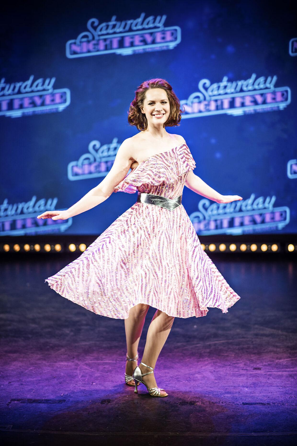Amalie Dollerup i musicalen Saturday Night Fever, der bliver opsat i 2017.