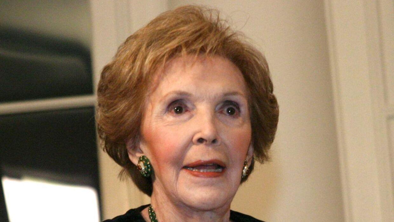 USA's tidligere førstedame, Nancy Reagan er død, 94 år gammel. (Foto: EPA)