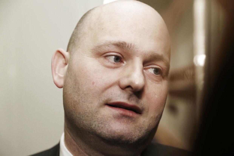 Her ses K-formanden Søren Pape
