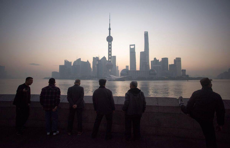 Urbaniseringen vil blomstre i Kina, mens landets økonomiske udvikling vil aftage.