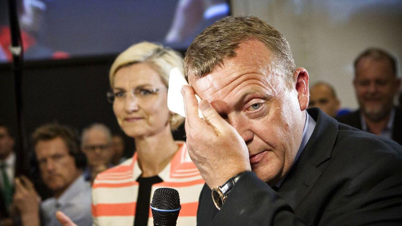 Meningsmålinger i februar måned viste den laveste tilslutning til Venstre i 25 år.