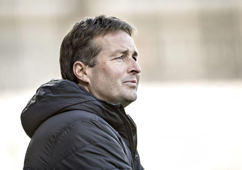 Viborg FF - FC Nordsjælland, Alka Superliga, Energi Viborg Arena : FCNs træner Kasper Hjulmand. (Foto: Henning Bagger/Scanpix 2016)
