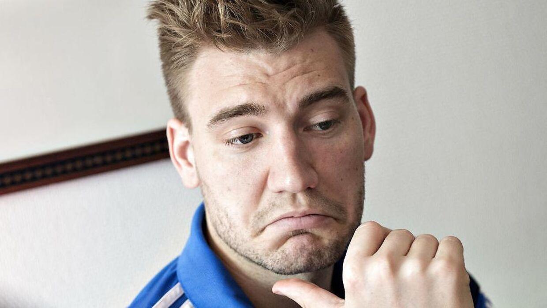 Ingen Nicklas bendtner på det danske landshold, i denne omgang.