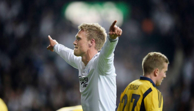 Nicolai Jørgensen - har noget med Nicklas Bendtner.