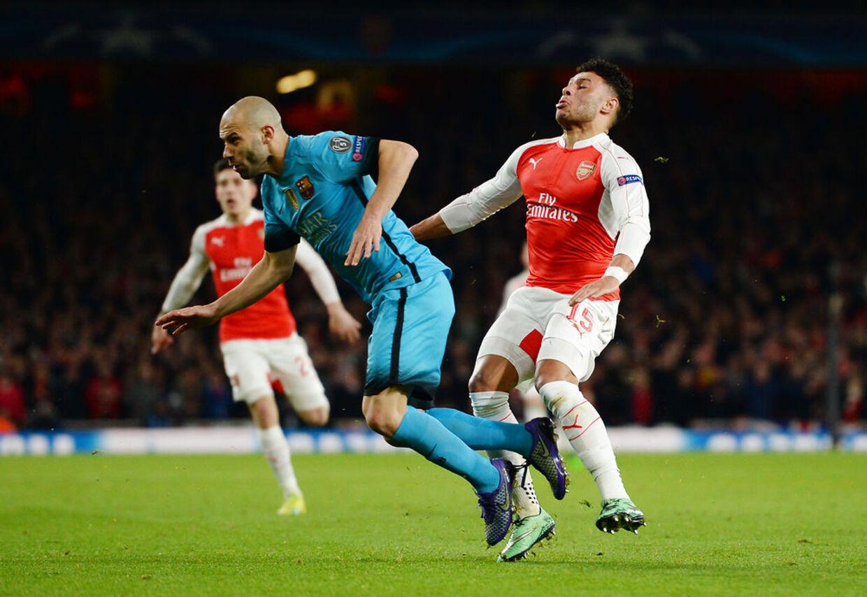 West Ham skal angiveligt være interesseret i at hente Arsenal-spilleren Alex Oxlade-Chamberlain.