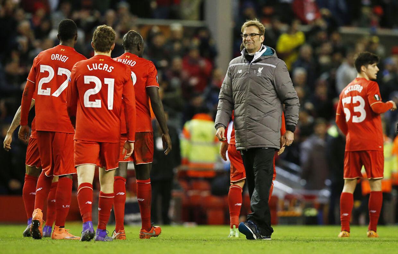 Liverpool er videre i Europa League efter en 1-0-sejr over tyske Augsburg. Første opgør endte 0-0.