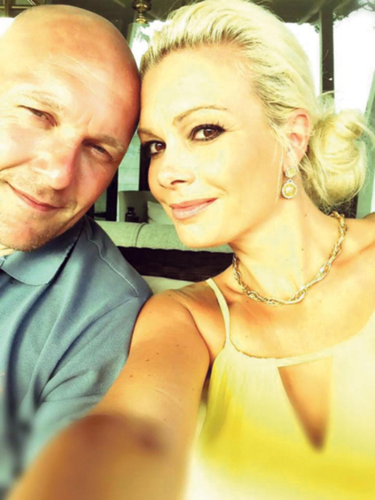 Thomas Gravesen stortrives tydeligvis i Las Vegas med den tjekkiskfødte model og ejendomsmægler Kamila Persse.