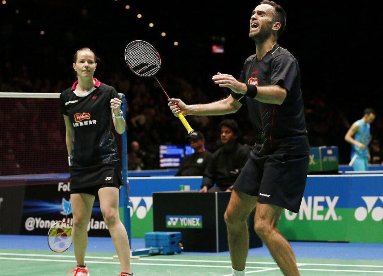 Christinna Pedersen og Joachim Fischer leverede fredag en imponerende præstation, der betyder, at de er i semifinalen ved All England.