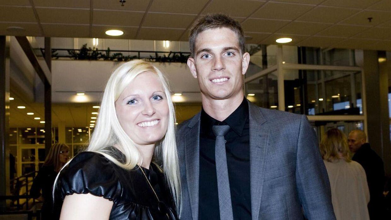 Jonas Borring og Kira Egsgaard Borring er separeret. Nu har hun fundet sammen med Jonas Borrings holdkammerat Christian Keller.