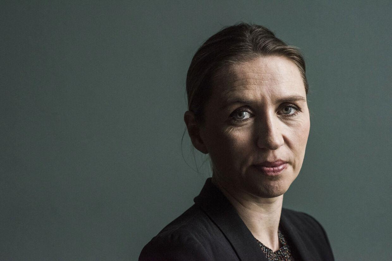 Portræt af Mette Frederiksen (s)