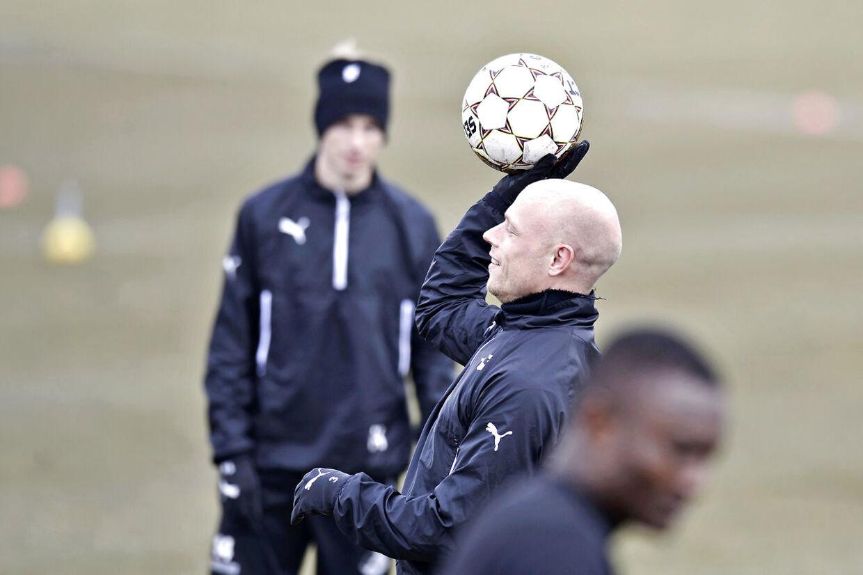 Christian Keller træner mandag med i Randers FC.