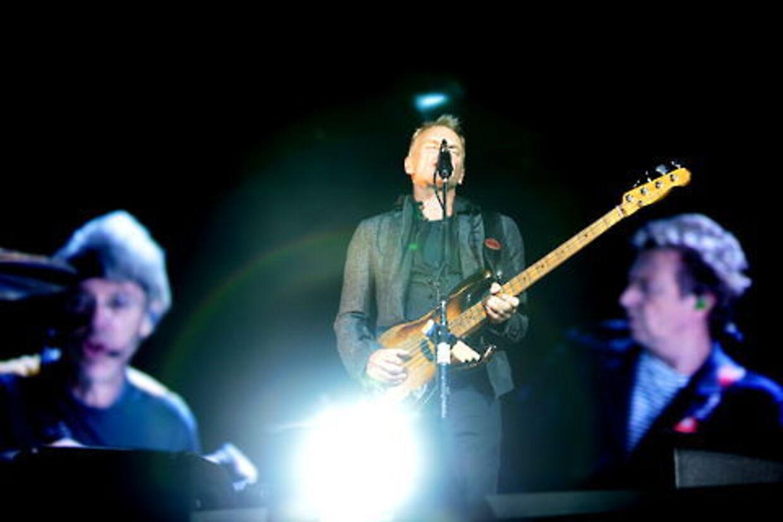 Sting & Co. gav en koncert, som svingede temmelig meget i kvalitet.
