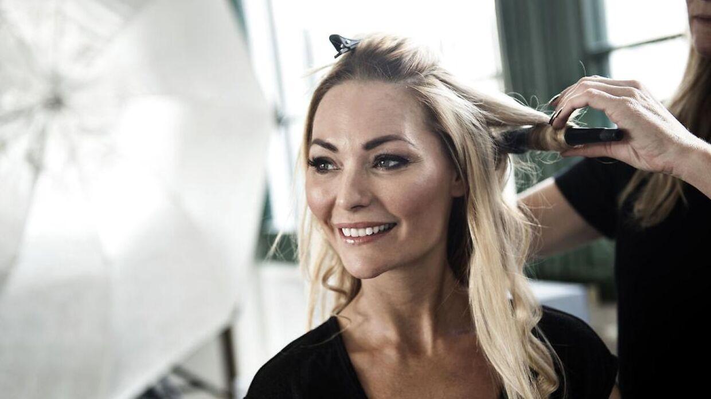 Blogger og tv-personlighed Mascha Vang fotograferet til fotoshoot på Frederiksberg mandag den 21. september 2015.