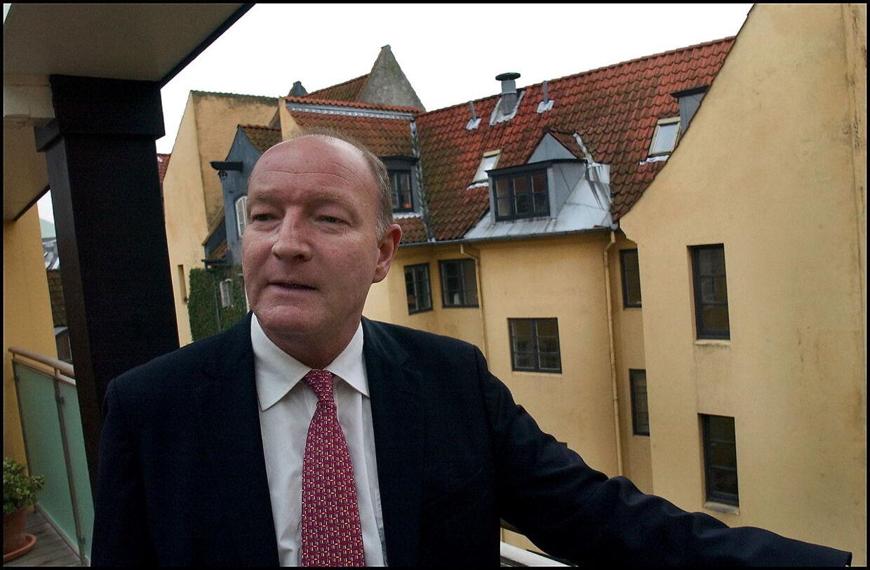 Mikael Goldschmidt i sin hjemby og fødeby København.