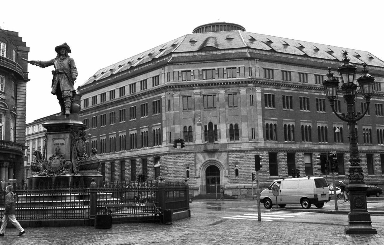 Øks tidligere hovedkvarter er blandt de ejendomme, som Michael Goldschmidt gennem tiden har opkøbt.