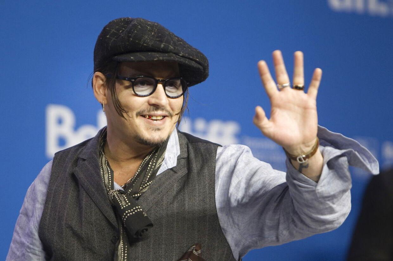 Johnny Depp er ikke begejstret for den 69-årige forretningsmand.