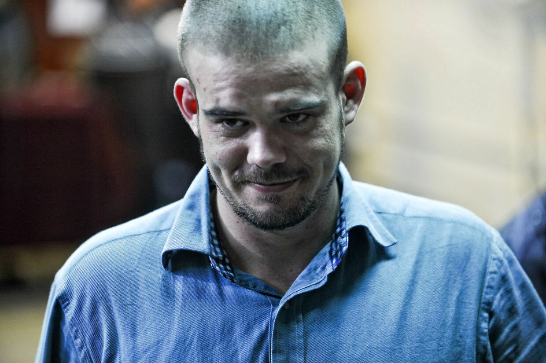 Joran Van der Sloot fotograferet i forbindelse med retsagen om peruvianske Stephany Flores. Van der Sloot blev dømt for drabet, men allerede fem år tidligere dræbte han den 18-årige amerikanske studerende Natalee Holloway. Det indrømmer han nu i en skjult optagelse. (Arkivfoto)