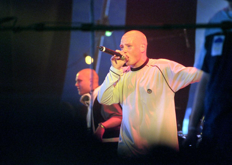Clemens på Roskilde Festival i 1998.