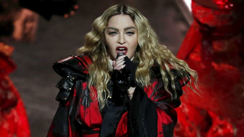 Madonna under sin optræden i Macao i Kina den 20. februar 2016.