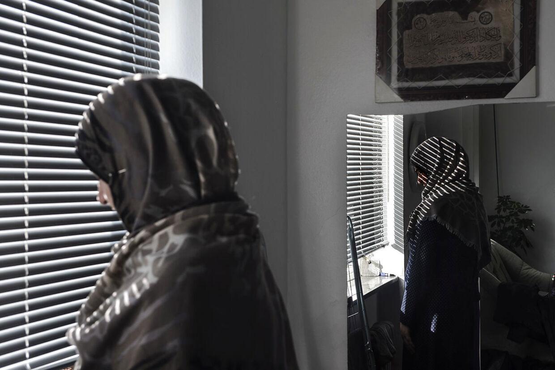 Portræt af afvist asylansøger Chiman. Torsdag den . februar 2016.