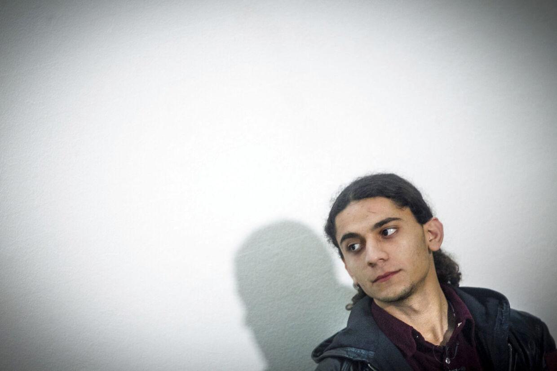 Yahya Hassan. RB Arkivfoto.
