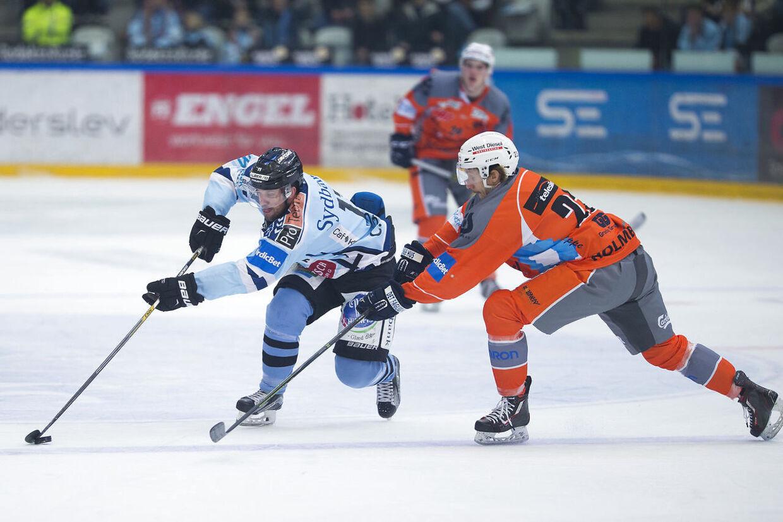 Esbjerg Energy vandt den første kamp mod SønderjyskE i årets DM-semifinale.