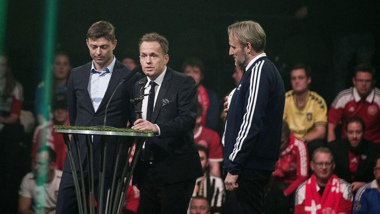 Dansk Fodbold Awards 2016 i TAP 1. Årest træner. Jakob Michelsen (Foto: Liselotte Sabroe/Scanpix 2016)