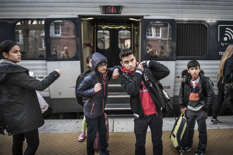 En stigende andel af asylansøgerne i Danmark er uledsagede mindreårige. Arkivfoto: Asger ladefoged