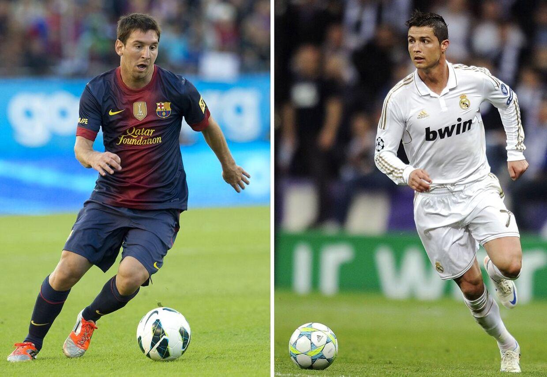 Hvem er bedst - Ronaldo eller Messi? Kig på statistikken, og bedøm selv.