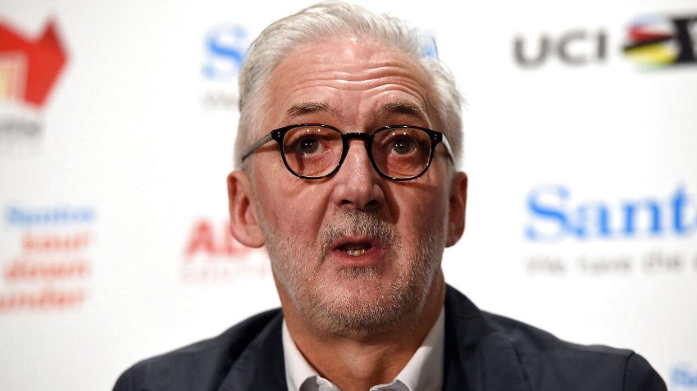 Brian Cookson, præsident i UCI.