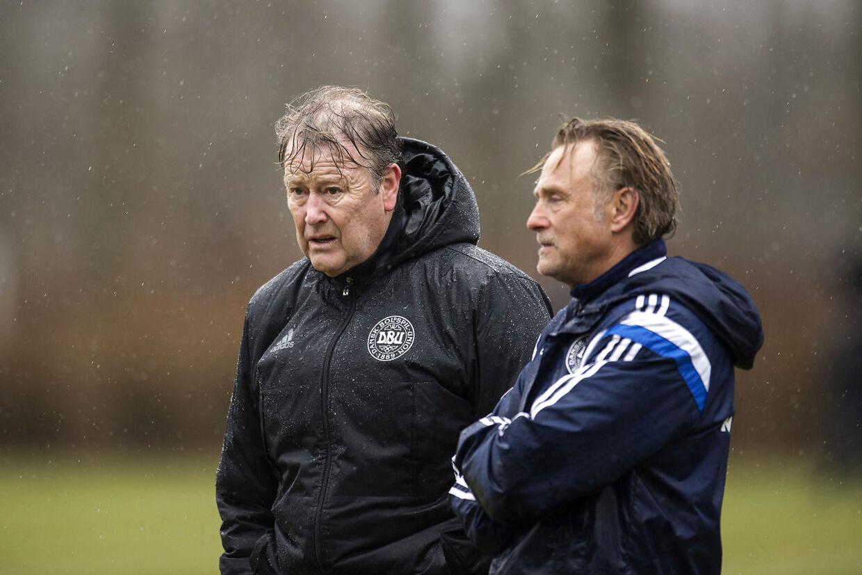 Åge Hareide har indført 3-5-2-systemet til det danske landshold.