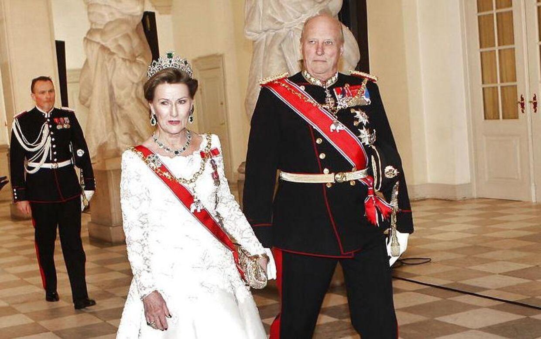 Det norske kongepar, Harald og Sonja.