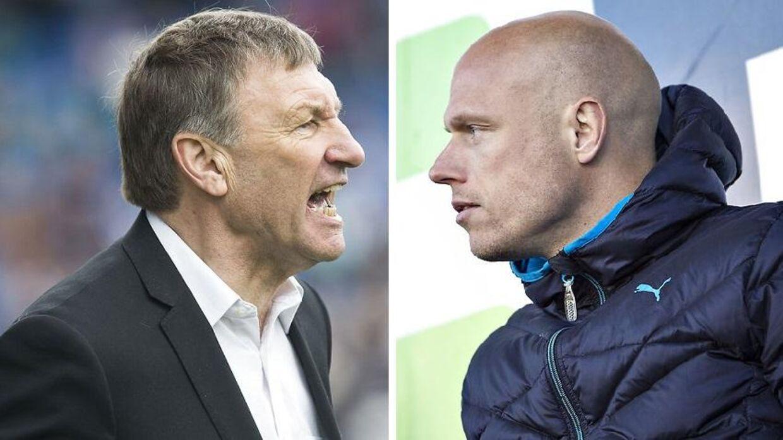 Colin Todd og Christian Keller er begge stadig i Randers. Jonas Borring har forladt klubben.