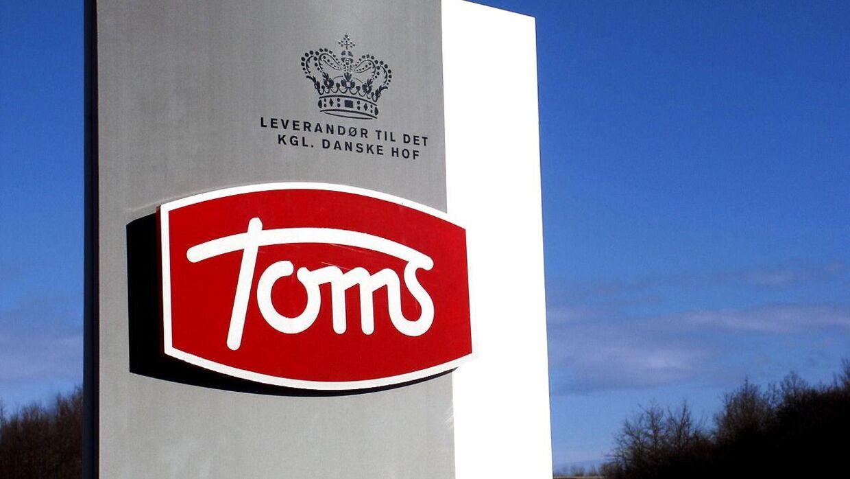 Apotekerne Hans Trojel og V. H. Meyer stiftede Toms Chokoladefabrik i 1924. Toms Gruppen A/S befinder sig i Ballerup.