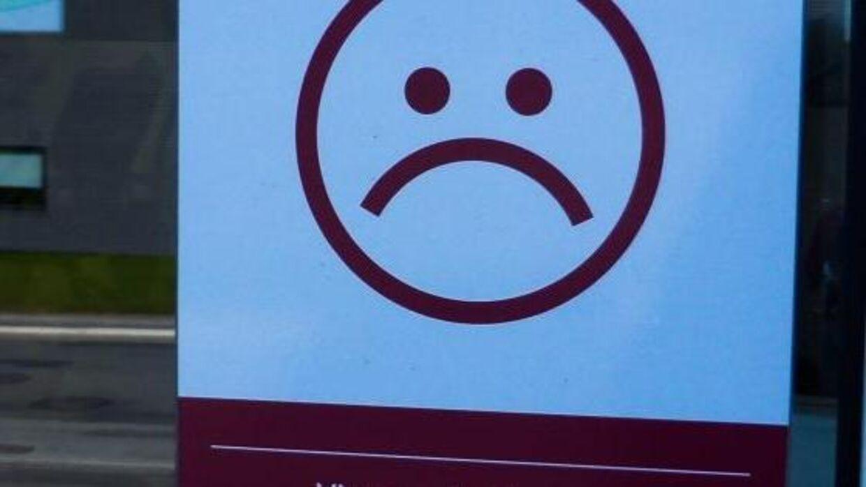 Nogle fitnesscentre bruger denne smiley som reklame.