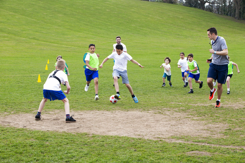boldspil i folkeskolen
