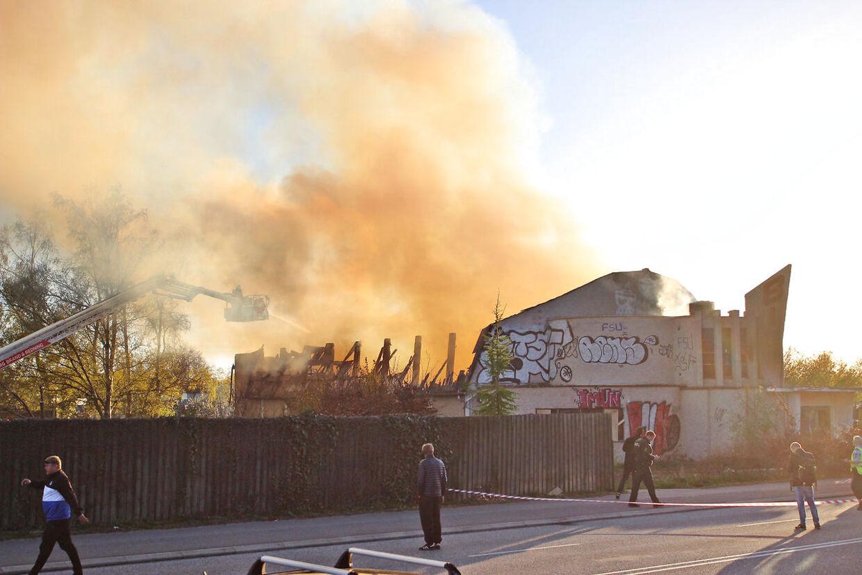 Brand i biograf ved Stenløse