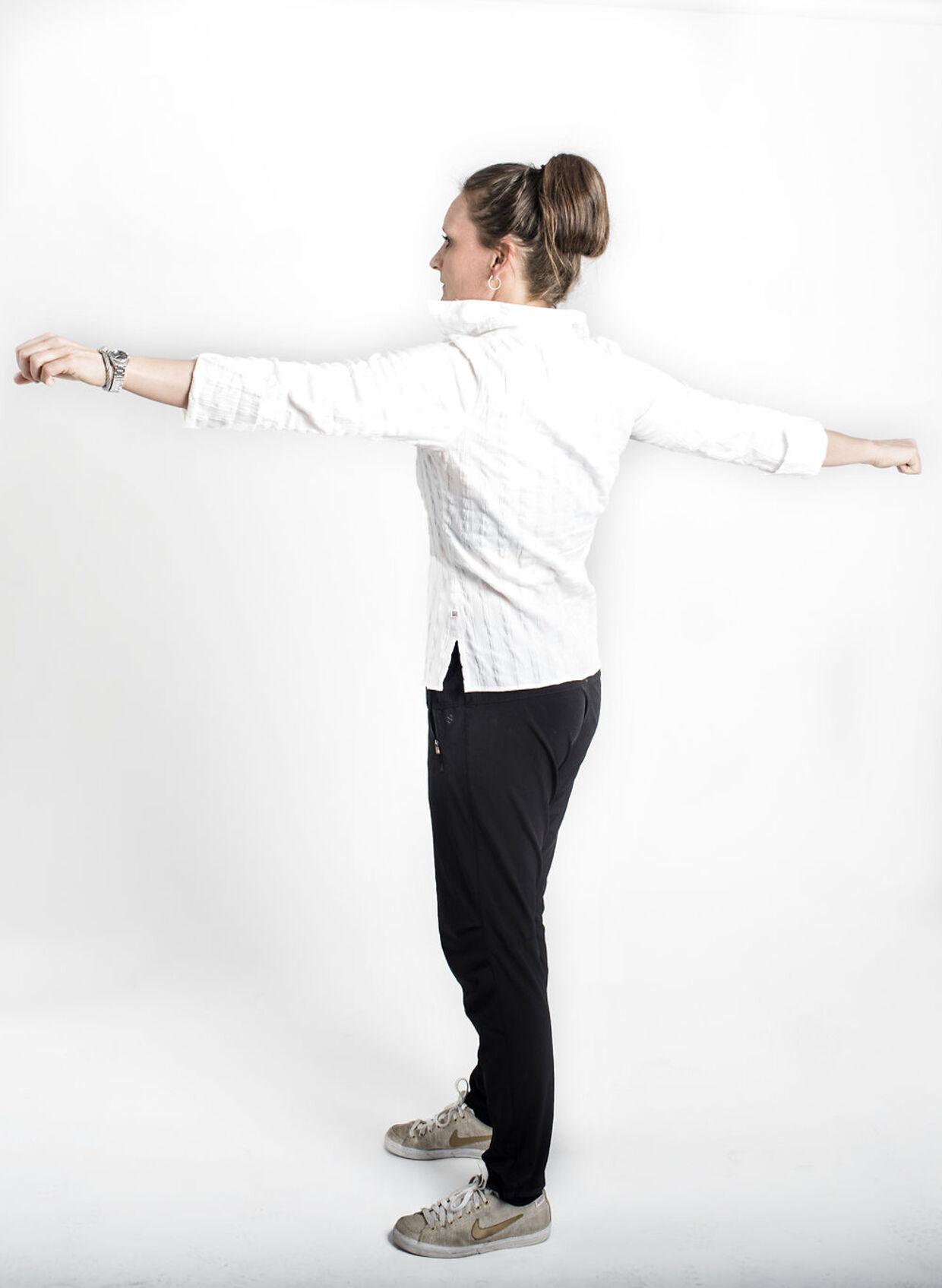 "Christine Erritzøe, idrætslærer og medforfatter til bogen ""Elsk din tarm"""