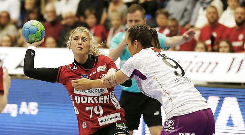 Estavana Polman (79) førte an med syv fuldtræffere i ordinær spilletid og en enkelt i den altafgørende straffekast-konkurrence, da Team Esbjergs håndboldkvinder vandt DM-finalen over FC Midtjylland og dermed sikrede sig klubbens første danske mesterskab