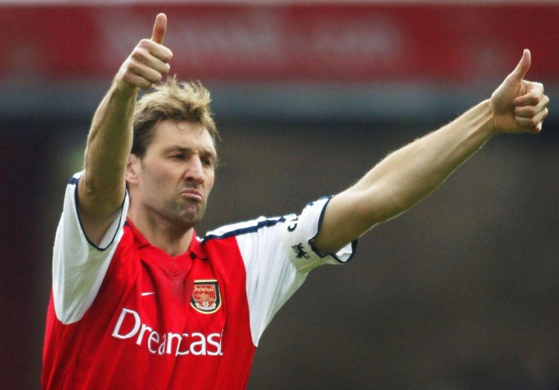 Tony Adams - som vi kender ham fra Arsenal.
