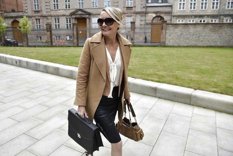Helene Danneskiold-Samsøe har de seneste mange år fungeret som overdirektør på Gisselfeld.