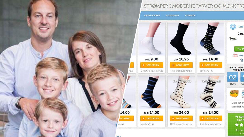 Her ses familien og deres hjemmeside.