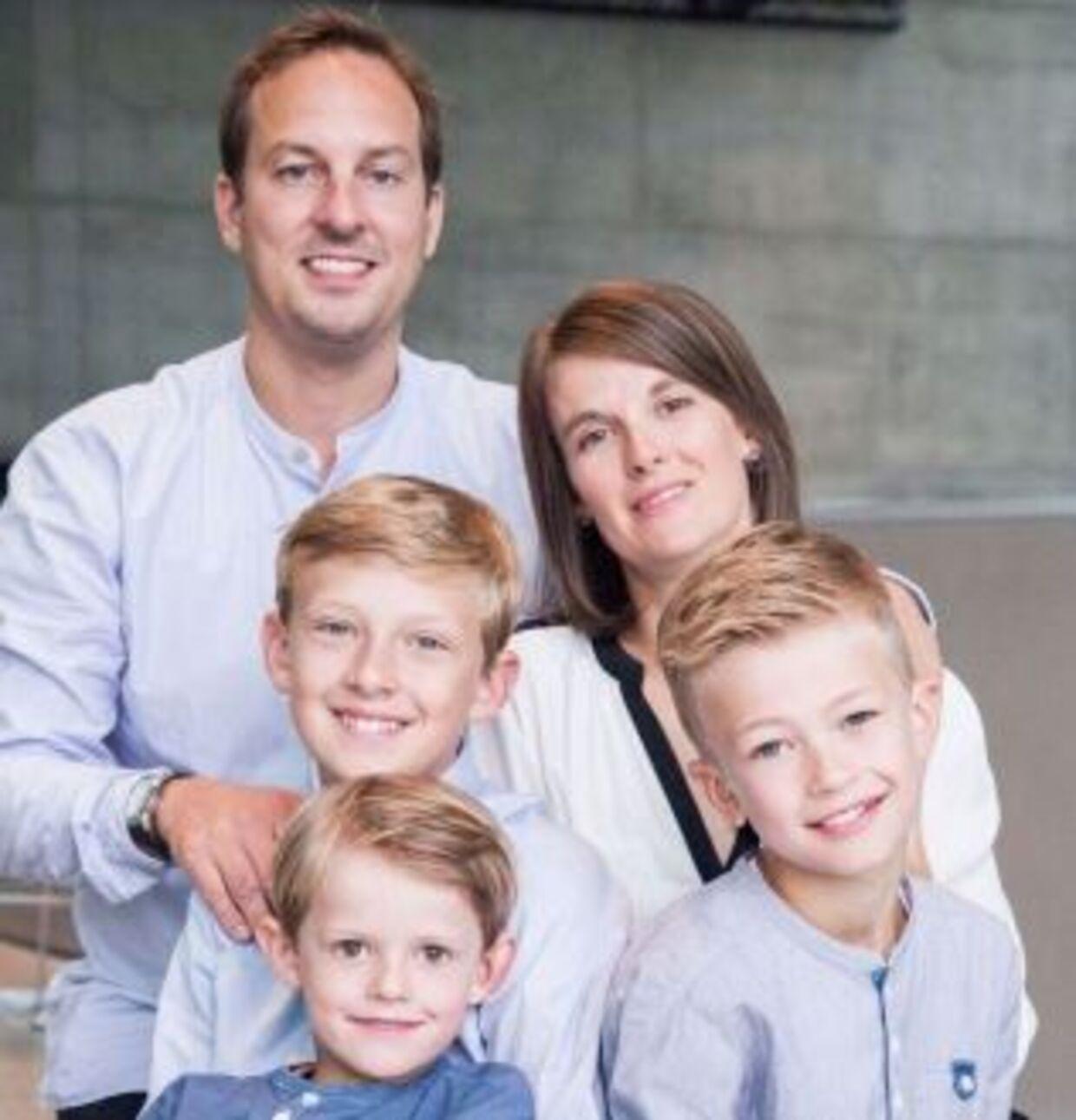 Her ses familien Jacobsen/Haugaard.