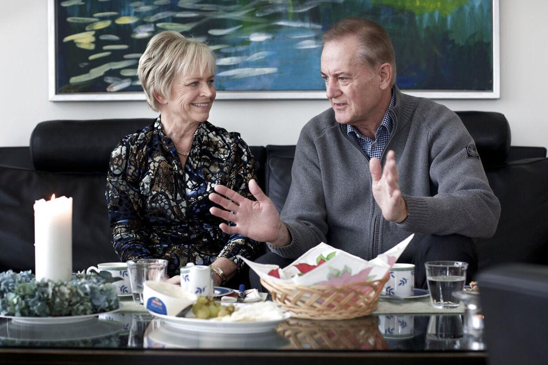 Keld og Hilda Heicks hus i Sverige.