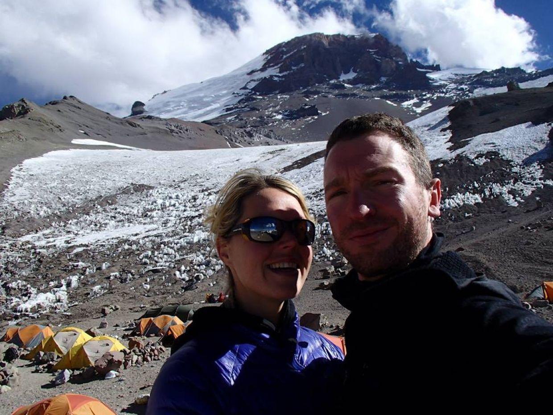 Maria Strydom og hendes mand Robert Gropal var begge erfarne bjergbestigere.
