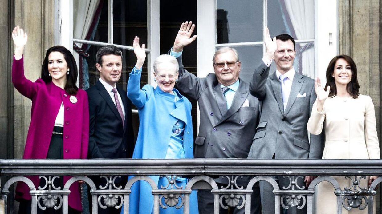 Dronningen får langt den største bid af kagen. Arkivfoto.