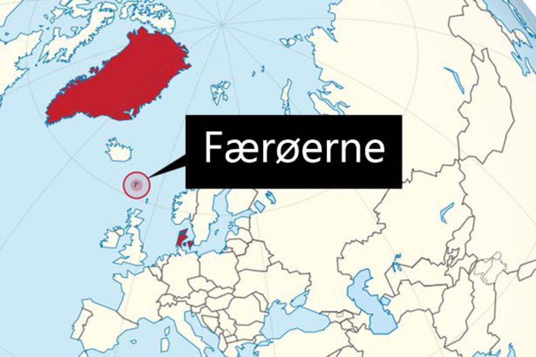 Ifølge The Mirror rasler Vladimir Zhirinovsky mod Færøerne. Det er også muligt, at det er Orkney- eller Shetlandsøerne.